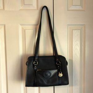 Dooney & Bourke leather black handbag.